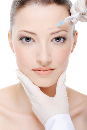 Botox injection to removewrinkles